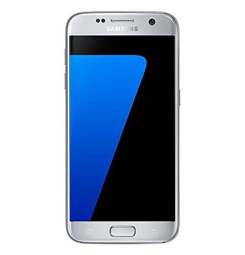 Samsung Galaxy S7 Smartphone, Argento, 32 GB Espandibili [Versione Italiana]