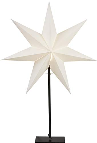Star Standstern Frozen, Ohne Lochung, Weiss, E14, Papier