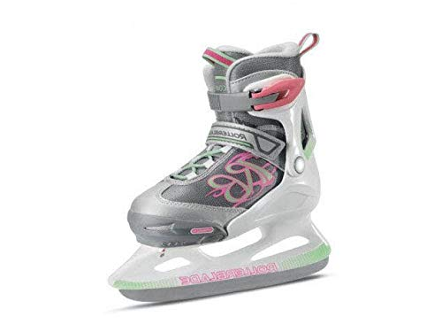 Rollerblade Mädchen Comet Ice G Eislaufschuh, Weiss/HELLGRÜN, 225