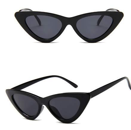 Óculos de Sol Cat Eye Preto Gatinho Retro Vintage