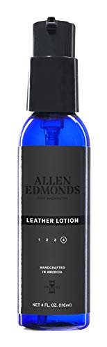 Allen Edmonds Men's Leather Lotion, Cedar/A, One Size 0X US