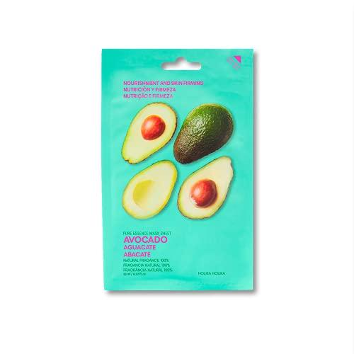 Holika Holika Pure Essence Facial Sheet Mask, Avocado, 23 ml