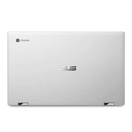 ASUS Chromebook Flip Laptop Silber 14-14.99 inches (US Tastatur und Stecker)