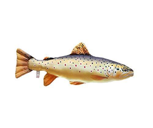 GABY Fish Pillows Bachforelle Mini Kissen, Mehrfarbig