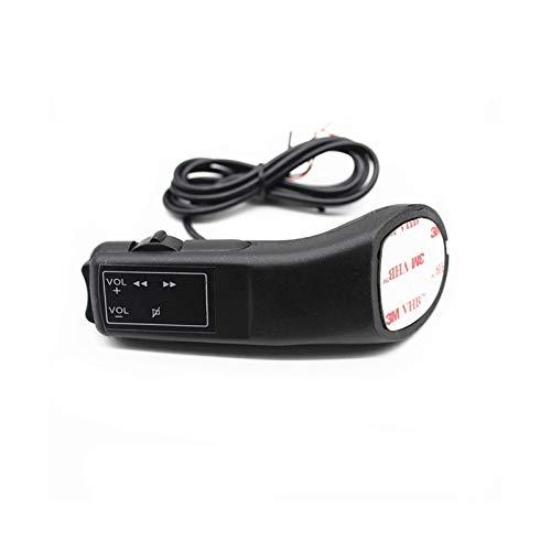 VSKTE Controlador de volante Controlador de control de volumen Control remoto Universal Coche DVD Android Player Botón Interruptor de automóvil Styling Estilismo de coche