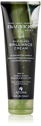 Alterna Bamboo Shine Silk-Sleek Brilliance Cream for Unisex, 125ml