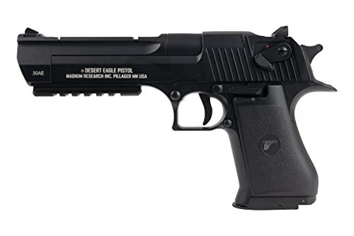 AS24 Desert Eagle AEP <0,5 Joule inkl. Akku + Ladegerät Metall Schlitten Airsoft Pistole schwarz
