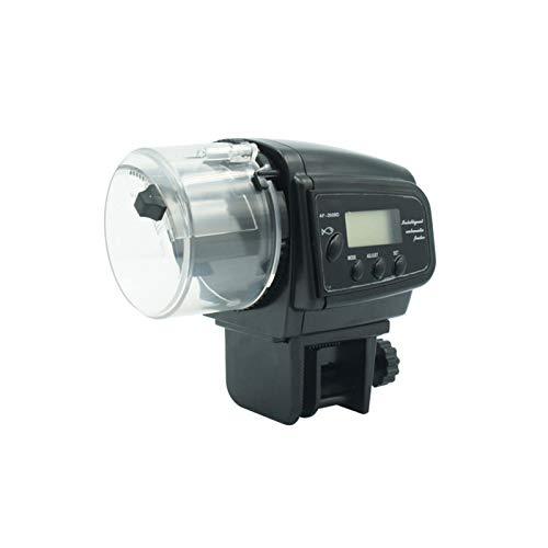 UNISOPH Alimentador automático para peces con pantalla LCD digital duradera eléctrica inteligente...