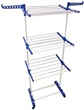 TNC 3 TIER SINGLE POLL MILD STEEL POWDER COATED NEW IMPROVED CLOTH DRYING STAND