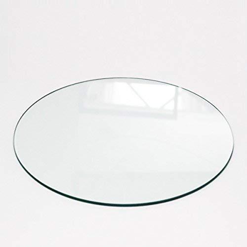 Veggimoebel Tischplatte Gehärtetes Glas Ø 600 mm x 10 mm,Tisch Glasplatte Platte Esstisch