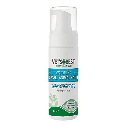Vet's Best Waterless Hundebad | Kein Spültrockenshampoo für Kleine Tiere, 150ml