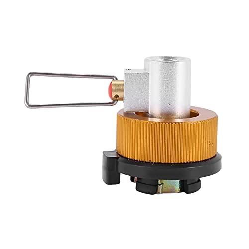 wivarra Adaptador de Conversión Bote Válvula Adaptador de La Estufa de Gas de Camping Recambio de La Palanca de Cambio del Conversor de Gas