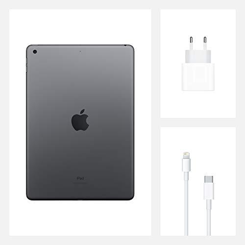 2020 Apple iPad (10,2, Wi-Fi, 128GB) - Space Grau (8. Generation)