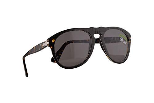 Preisvergleich Produktbild Persol 649 Sonnenbrille P.Galles Grau Mit Polarisierten Grauen Gläsern 54mm 1093P2 PO 0649 PO0649 PO649