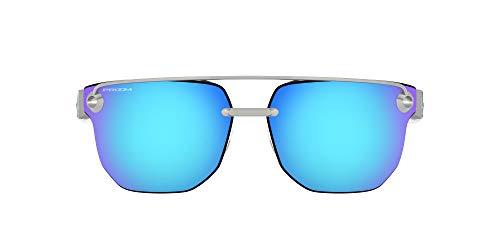 Oakley Men's Oo4136 Chrystl Metal Square Sunglasses