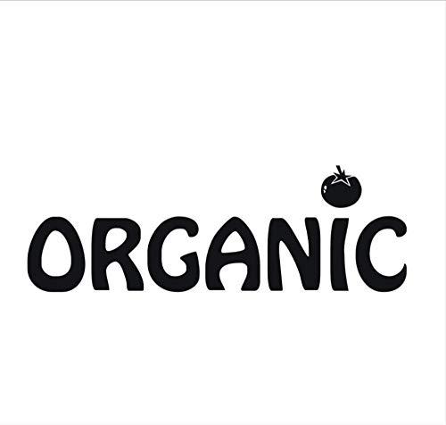 Muursticker Muursticker Gezonde Leven Muur Kunst Eet Organische Voedsel Verwijderbare Keuken Woondecoratie 58X19Cm