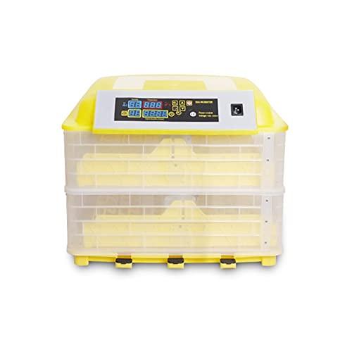 YAWEDA Incubadora Automática de 98 Huevos con Pantalla Digital y Control Eficiente e Inteligente de Temperatura y Humedad Fácil Manipulación Rotación Automática Alta incubabilidad