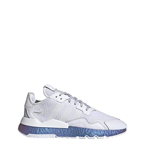 adidas Originals Nite Jogger FV3746 - Zapatillas deportivas, color blanco, talla 42 UK 8, color Blanco, talla 42 EU