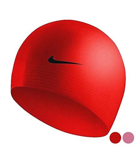 Nike muts Natacion 93050-6 S2002871, volwassenen, unisex, rood, één maat