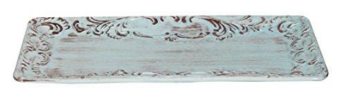Biscottini Tablett aus Keramik von Bassano L40XPR20XH3 cm Made in Italy
