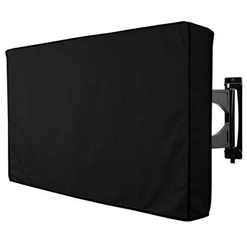 RENSHENKTO Cubierta al aire libre de la TV con la parte inferior resistente a la intemperie protege la ejecución