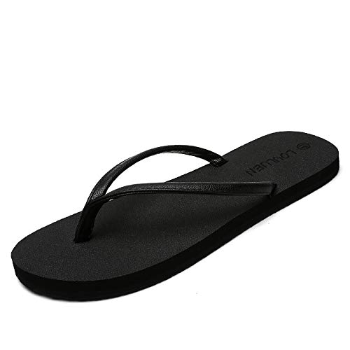 GYCZC 2020 Summer Plus Size Non-Slip Tide Slippers Korean Version Of The External Pinned Sandals Worn Couple Beach Shoes 35-44