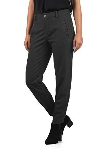 DESIRES Ray Damen Stoffhose Anzugshose, Größe:L, Farbe:Dark Grey (2890)