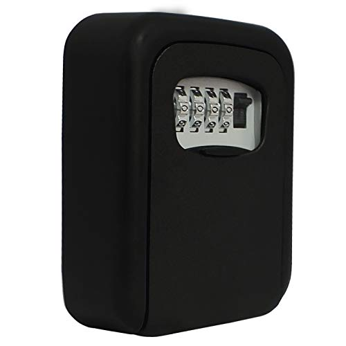 SAFE Schlüsselsafe aussen | Schlüsseltresor mit Zahlencode | Schlüsseltresor Außen-Bereich | Format 95 x 40 x 120 mm