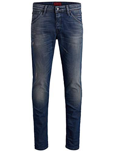 JACK & JONES Herren Slim Fit Jeans Glenn Fox BL 820 3332Blue Denim