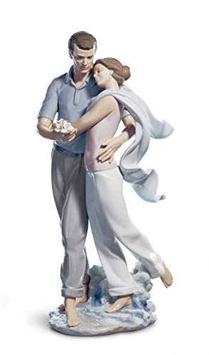 LLADRÓ You re Everything to Me Couple Figurine. Porcelain Bride and Groom Figure.
