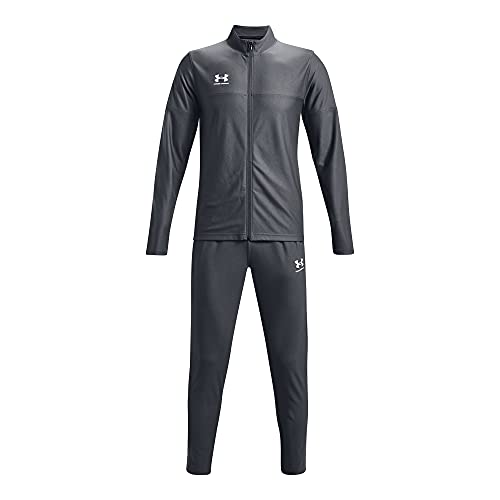 Under Armour Challenger Tracksuit chándal, Pitch Gray / / White, 2XL para Hombre
