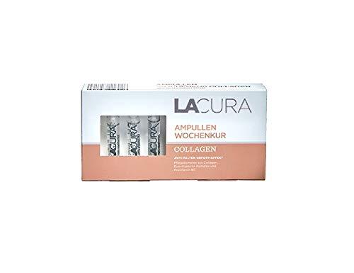 LACURA Collagen 7 Ampullen Wochenkur Collagen Anti Falten Sofort Effekt 14 ml