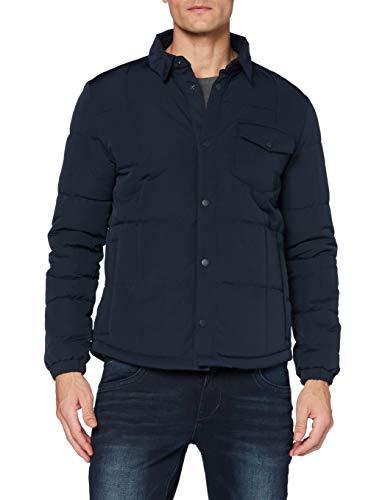 ESPRIT Herren 080EE2G311 Jacke, 405/DARK Blue, XL