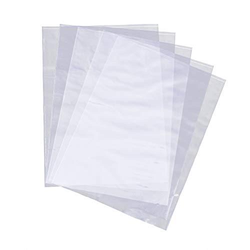 SUPVOX 300 Stück PVC Schrumpffolie, Schrumpffolie, Verpackung, Folie, für Seifen, Badekugeln und Bastelarbeiten