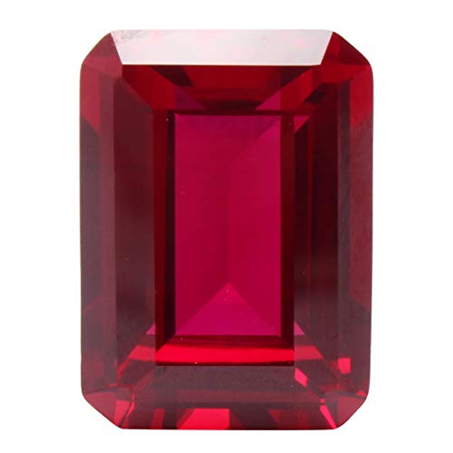 Save %20 Now! CoCocina 13x18mm Unheated Rectangular Shape Pigeon Blood Red Ruby Cut Loose Gems Home ...