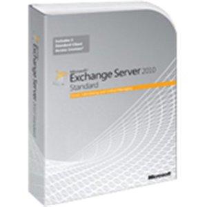 Microsoft Exchange Server 2010 Standard Edition - Ensemble de boîtes - 1 serveur, 5 licences d'accès client - academic - DVD - 64-bit - Win - anglais