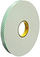 3M- Model No 4026 Double Coated Urethane Foam Tapes- Off White- Ideal for Bonding- Attaching- and Mounting