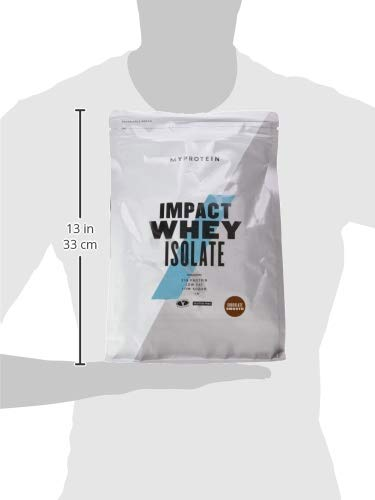 Myprotein Impact Whey Isolate Protein Chocolate Smooth, 1er Pack (1 x 1 kg) - 3