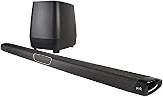 Polk Audio Magnifi Max Home Theater Soundbar with Wireless Subwoofer - Black