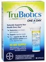 low-pricing TruBiotics Daily Probiotic Supplement Capsules Very popular! 2pc 45 ea -