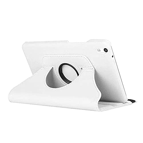 Handle Flip Leather Stand Cover for Huawei Media Pad T1 10 T1-A21W T1-A21L T1-A23L 9.6 Inch Tablet Case 360 Rotation-para 360 Blancos