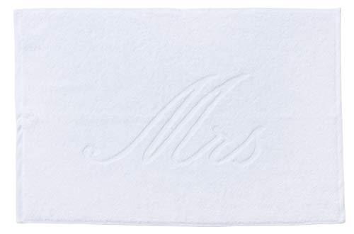 done. Style Badvorleger MRS in 6 Farben 50 cm x 70 cm weiß