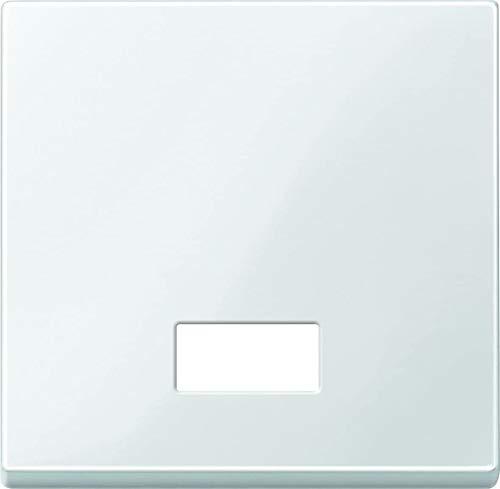 Merten 432819 Wippe mit rechteckigem Symbolfenster, polarweiß glänzend, System M