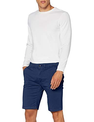 Pepe Jeans Herren Mc Queen Short Badeshorts, Blau (Steel Blue 563), W31 (Herstellergröße: 31)