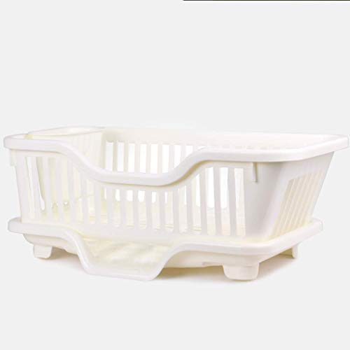 Fruit Vegetable Holder Blue Refrigerator Partition Layer Durable Storage Rack White and Pink Glomixs Plastic Kitchen Refrigerator Storage Rack Apricot Kitchen Space Saver Organization