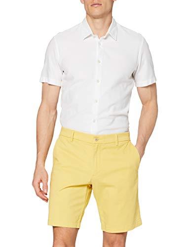 Dockers Smart Supreme Flex Modern Chino Short, Pantalones Cortos Hombre, Amarillo Oscuro, 34