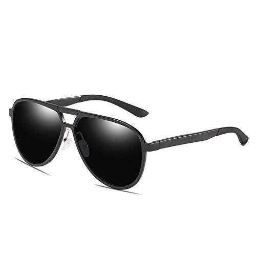 KDOAE Gafas de Sol Deportivas Marco de Aluminio y magnesio Hombres Gafas de Sol polarizadas Gafas de Sol de conducción Completo for Montar a Caballo al Aire Libre Hombres Mujeres