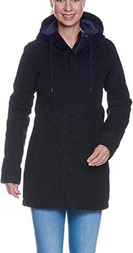 Tatonka Manjo Womens Coat, 44 Damen, Dark Blue