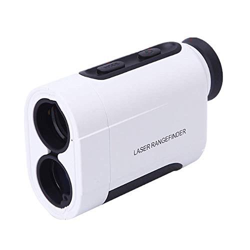 TZH Laser-Entfernungsmesser, 600M Multifunktions-bewegliche Hand Digital Display Golf Entfernungsmesser, Tachometer, 6fach optisches Zoom, Geeignet für Außen Golf, Fernmess
