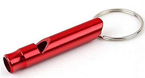 Sleutelhanger met rode fluit cadeau idee voor man en vrouw
